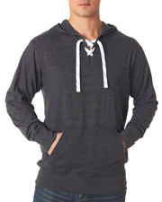 J America J8231    J-America Adult Sport Lace Jersey Hooded Shirt  at GotApparel
