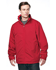 Men's 3 In 1 Jacket, Inner With Zipped Out Poly Fleece Jacket