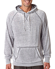J America J8915  Burnout Hooded Sweatshirt.  at GotApparel