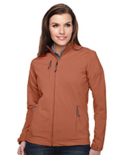 Tri-Mountain Performance JL6205 Women's Bonney Dobby Full Zip Jacket