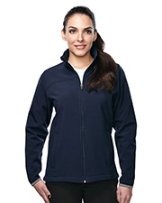Tri-Mountain Performance JL6380 Women's Quest Jacket With Top Yoke And Slash Pocket