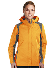 Women's 100% Nylon Water Resistant Jacket W/Hood