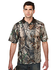 Men's Polyeater Real Tree Print Short Sleeve Shirt