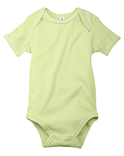 Apples & Oranges Infant Gerry 1X1 Rib Creeper Onesie KA150