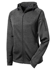 Sport-Tek - Women's Tech Fleece Full-Zip Hooded Jacket