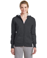 Sport-Tek L265 Women Ladies FullZip Hooded Fleece Jacket
