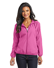 Port Authority L305 Women Hooded Essential Jacket at GotApparel