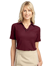 Port Authority L502 Women Silk Touch™ Piped Polo at GotApparel