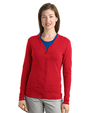Port Authority L515 Women Ladies Modern Stretch Cotton Cardigan