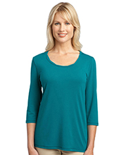 Port Authority Women's Concept Rope Neck Shirt. L542