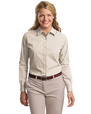 Port Authority L607  Ladies Long Sleeve Easy Care, Soil Resistant Shirt at GotApparel