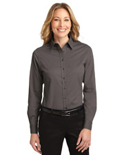 Port Authority L608  Ladies Long Sleeve Easy Care Shirt at GotApparel