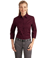 Port Authority L612 NEW  Ladies 3/4-Sleeve Easy Care Shirt at GotApparel