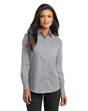 Port Authority L632    - Ladies Long Sleeve Value Poplin Shirt.  at GotApparel