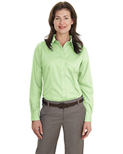 Port Authority L638 Women Long Sleeve Non-Iron Twill Shirt