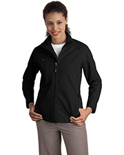 Port Authority L705 NEW  Ladies Textured Soft Shell Jacket at GotApparel