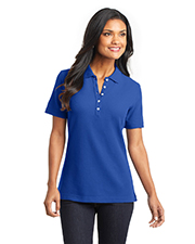 Port Authority L800   Women Ladies EZCotton™ Pique Polo at GotApparel