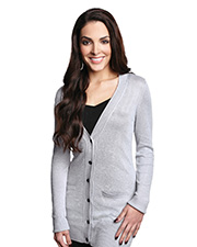 LILAC BLOOM LB928 Women Elizabeth Boyfriend Cardigan Sweater at GotApparel
