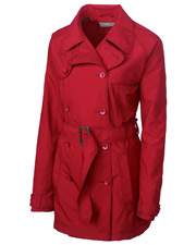 Cutter & Buck LCO01198 Women Cb Weathertec Mason Trench Coat