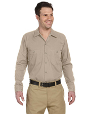 Dickies LL535 Men 4.25 oz. Industrial Long Sleeve Work Shirt at GotApparel