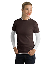 Sport-Tek LST306 NEW  Ladies Long Sleeve Double Layer T-Shirt at GotApparel