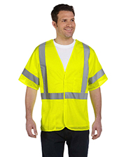 OccuNomix LUXHSG Men Mesh Breakaway Vest, Class 3 at GotApparel
