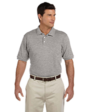 Harriton M100 Men Ringspun Cotton Pique Polo