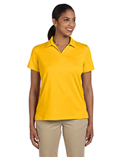 Harriton M353W Women Double Mesh Sport Shirt at GotApparel