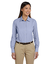 Harriton M555W Women 3.48 oz. Chambray at GotApparel