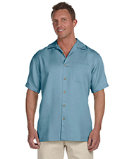 Harriton M570 Mens Bahama Cord Camp Shirt at GotApparel