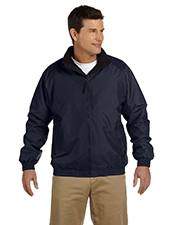 Harriton M740 Men FleeceLined Nylon Jacket