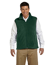 Harriton M985 8 oz. Fleece Vest at GotApparel