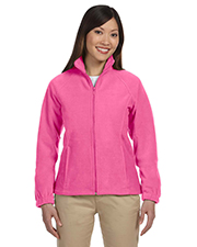 Harriton M990W Women Ladies' 8 oz. FullZip Fleece