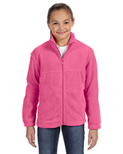 Harriton Full Zip Youth Fleece