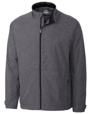 Cutter & Buck MCO00928 Men Windtec L/S Venture Full Zip at GotApparel