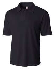 A4 NB3261 Boys Circular Knit Performance Polo at GotApparel