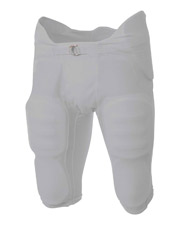 A4 NB6180 Boys Flyless Integrated Football Pant at GotApparel