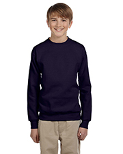 Hanes P360  Youth 50/50 Crewneck Sweatshirt at GotApparel