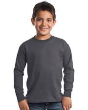 Port & Company PC61YLS    - Youth Long Sleeve Essential T-Shirt.  at GotApparel