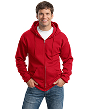 Port & Company PC90ZHT Men Tall Ultimate FullZip Hooded Sweatshirt at GotApparel