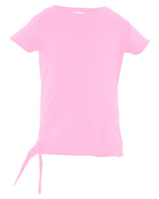 Rabbit Skins R3325     Toddler Side Tie T-Shirt  at GotApparel