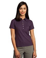 Red House RH02   Women Ladies Honeycomb Performance Pique Polo at GotApparel