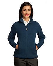 Red House RH55   Women Ladies Sweater Fleece FullZip Jacket at GotApparel