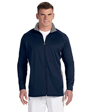 Champion S270 Men Performance 5.4 oz. Colorblock Full Zip Jacket at GotApparel