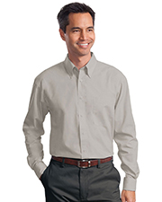 Port Authority S632 Men Long Sleeve Value Poplin Shirt