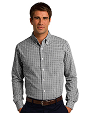 Port Authority S654 ® Long Sleeve Gingham Easy Care Shirt.  at GotApparel