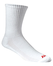 A4 S8004     Performance Crew Socks  at GotApparel