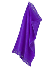 Anvil T101  Unisex Fringed Spirit Towel at GotApparel