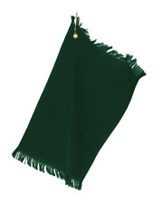 Towels Plus by Anvil T60G  Fringed Fingertip Towel with Corner Grommet & Hook at GotApparel