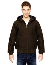 Dickies TJ718 Adult 10 oz. Hooded Duck Jacket at GotApparel